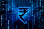 Rupee largely steady