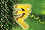 Rupee falls to near 6-month low