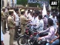 Hyderabad: Protests for Telangana