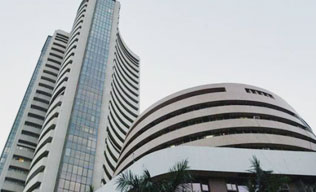 Sensex ends near days low