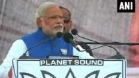 Narendra Modi says Congress has ruined India