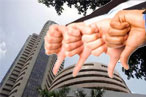 Sensex tumbles another 414pts