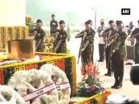 Indian Army pays tribute to fallen bravehearts on Infantry D...