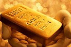 Gold holds steady around five month highs