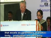 Maruti Suzuki sets up manufacturing plant in Gujarat