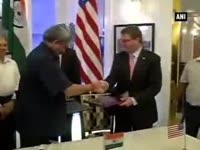 India, US sign 2015 framework agreement to better defence re...