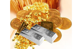 Gold, Silver remain flat