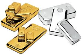 Gold, Silver trade lower