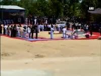 Abdul Kalams body laid to rest in Rameswaram with Guard of H...