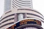 Sensex trades positive, up 75pts