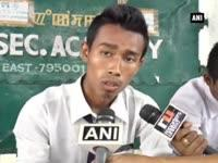 Police detain students demanding ILP implementation in Manip...
