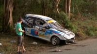 Pregnant women among six killed in rally car crash
