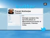 President Mukherjee expresses grief over Pakistan university...