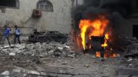 Eight killed in suicide bombing near Yemen presidential palace