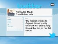 PM Modi spends quality time with his mother at 7RCR