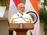 India, Egypt to work together to combat terrorism: PM Modi